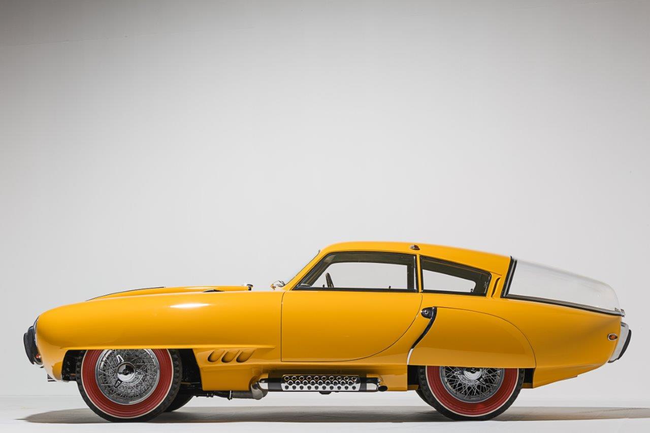 1952 Pegaso Z-102 Berlineta Cúpula: Amelia Island Concours de Sport