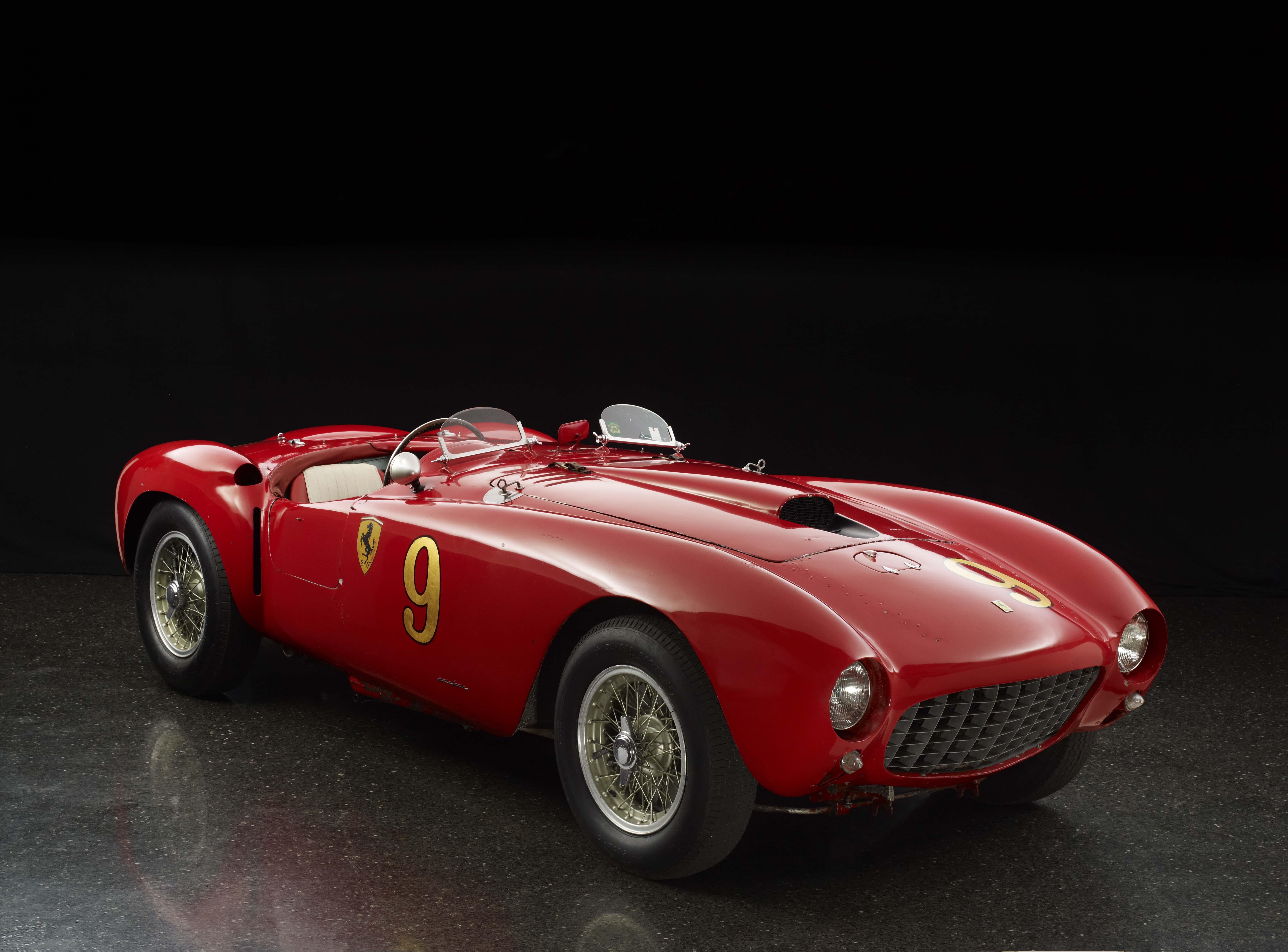 1953 Ferrari 375 MM Spyder by Pinin Farina: The Quail, A Motorsports Gathering