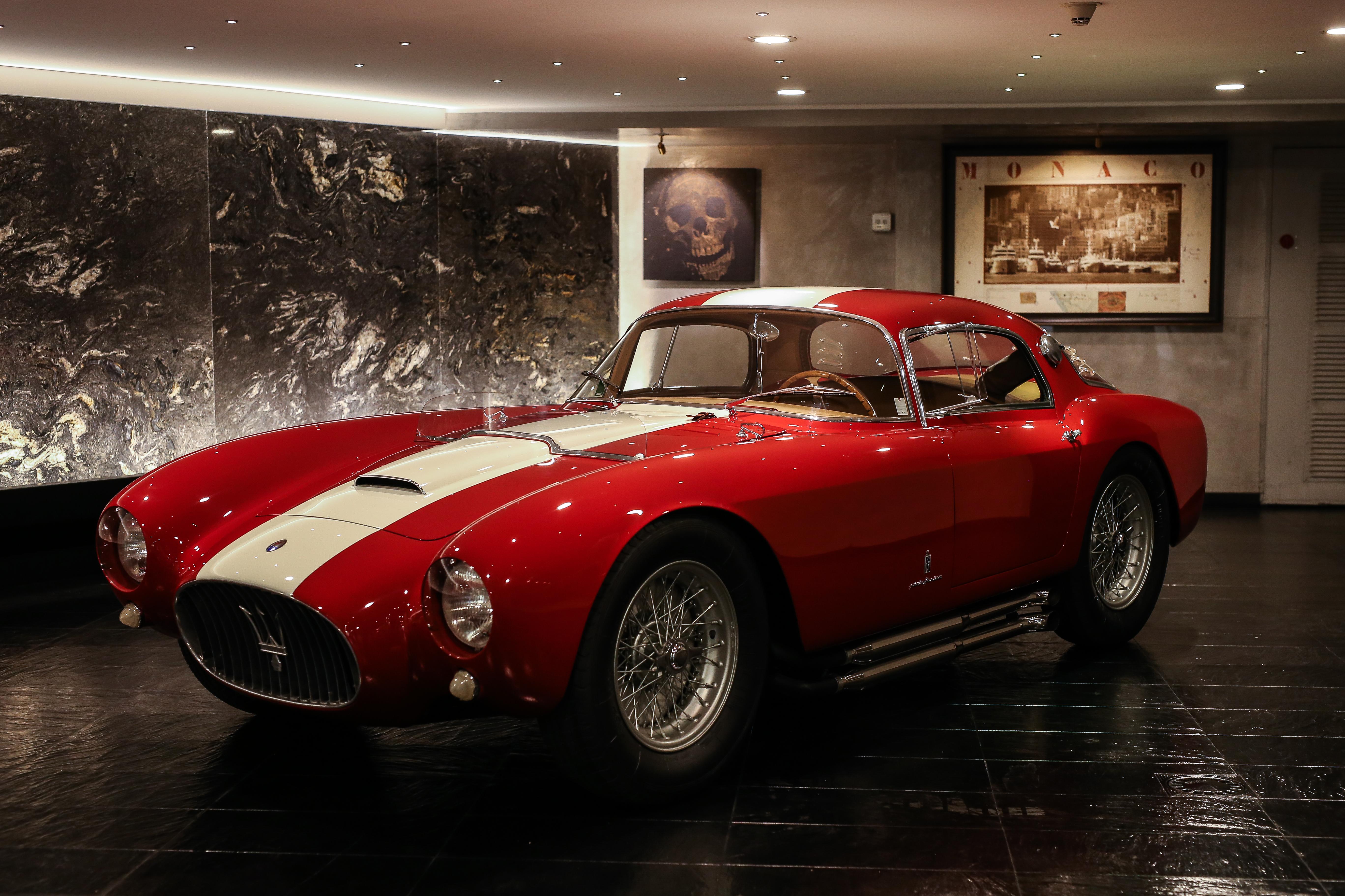 1954 Masarati A6GCS/53 Berlinetta by Pinin Farina: Concorso d'Eleganza Villa d'Este