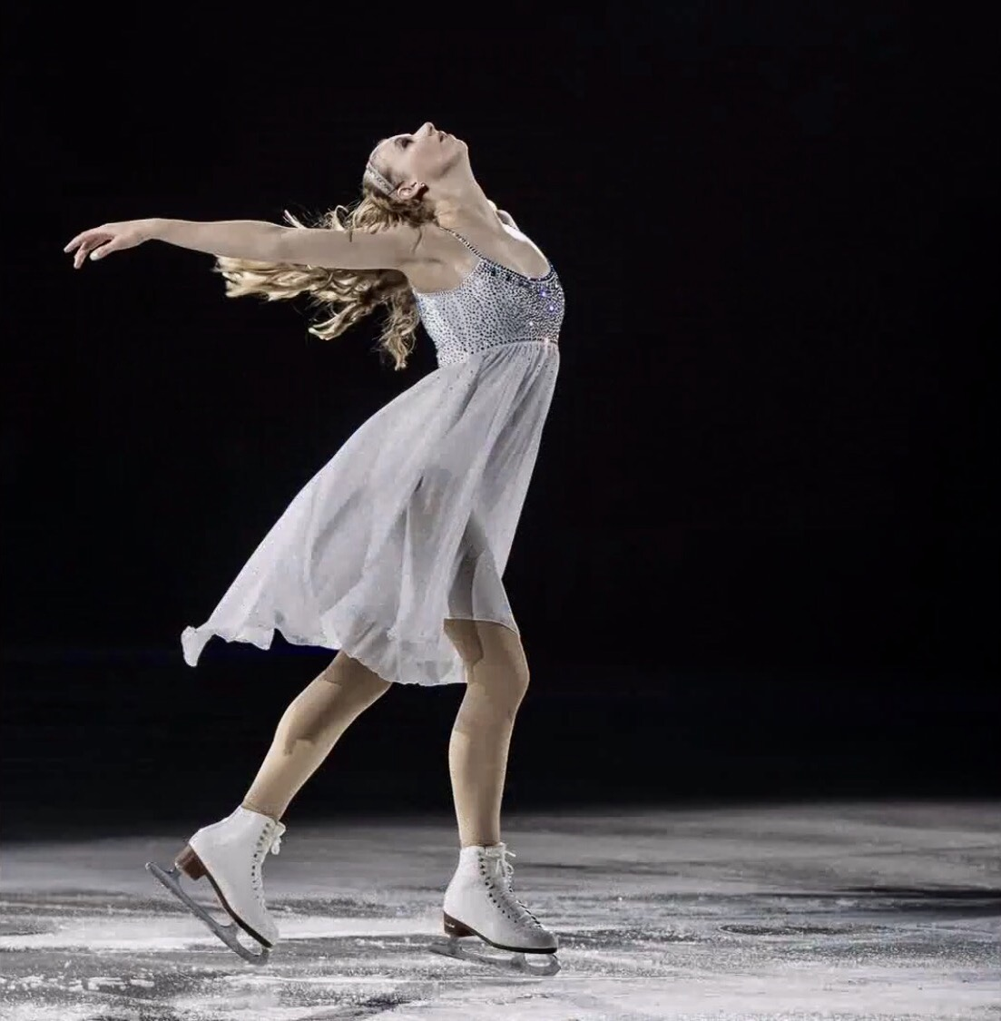 Interview with American figure skater Polina Edmunds
