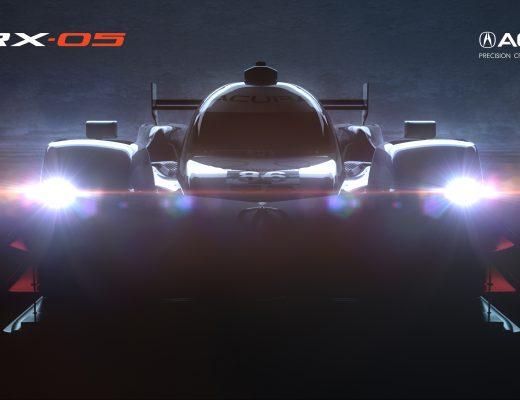 Acura's Newest Race Car: The ARX-05 Prototype