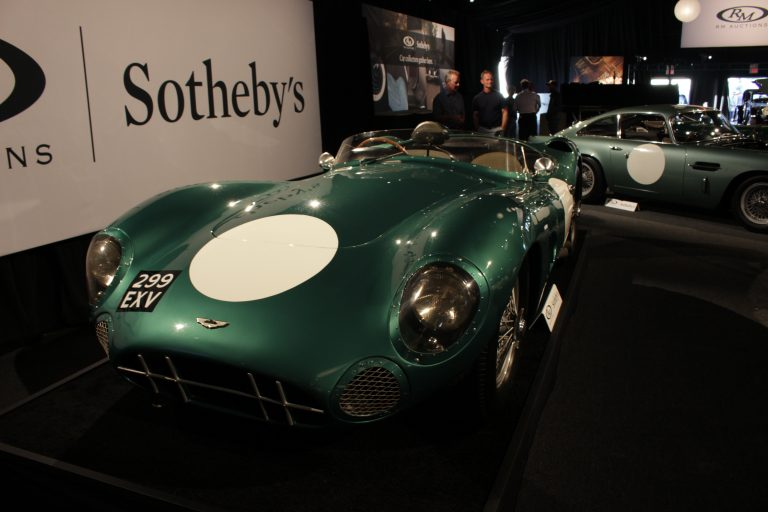 The Aston Martin DBR1 sets record as Most Expensive British Car