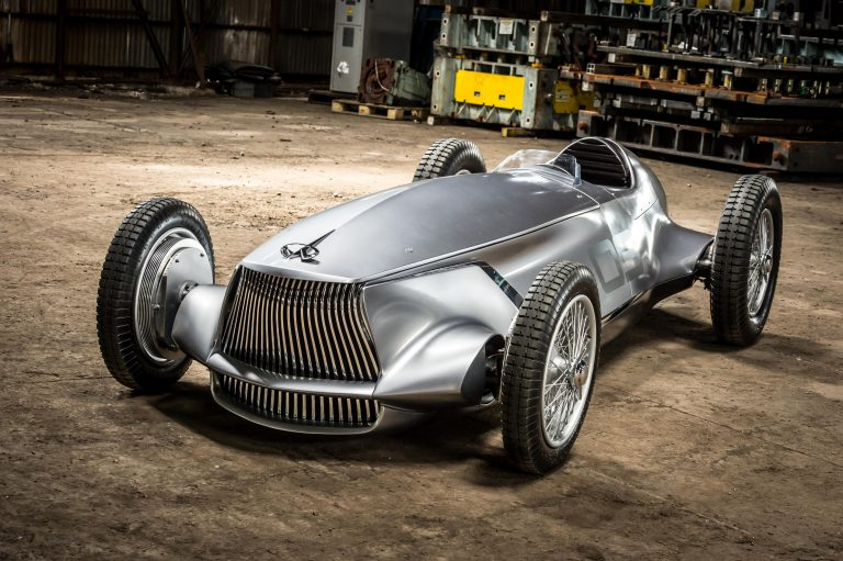 INFINITI To Showcase The Retro Inspired 'Prototype 9' At 2017 Pebble Beach Concours d'Elegance