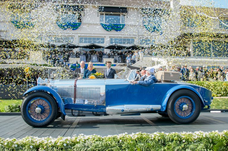 Best of Show Winner at the 67th Pebble Beach Concours d'Elegance