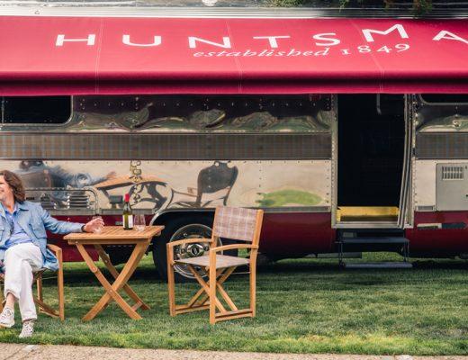 Huntsman Savile Row Kicks Off a U.S. Road Trip in an Airstream