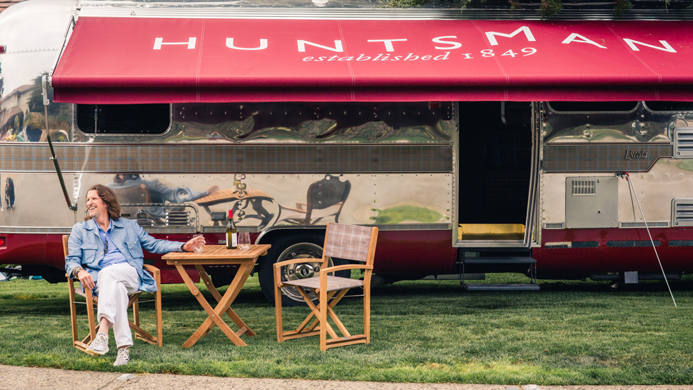 Huntsman Savile Row Kicks Off a U.S. Road Trip in an Airstream