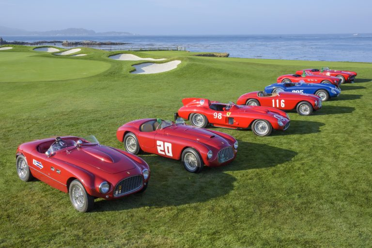 Ferrari's 70th Anniversary Celebration to be held at The Pebble Beach Concours d'Elegance