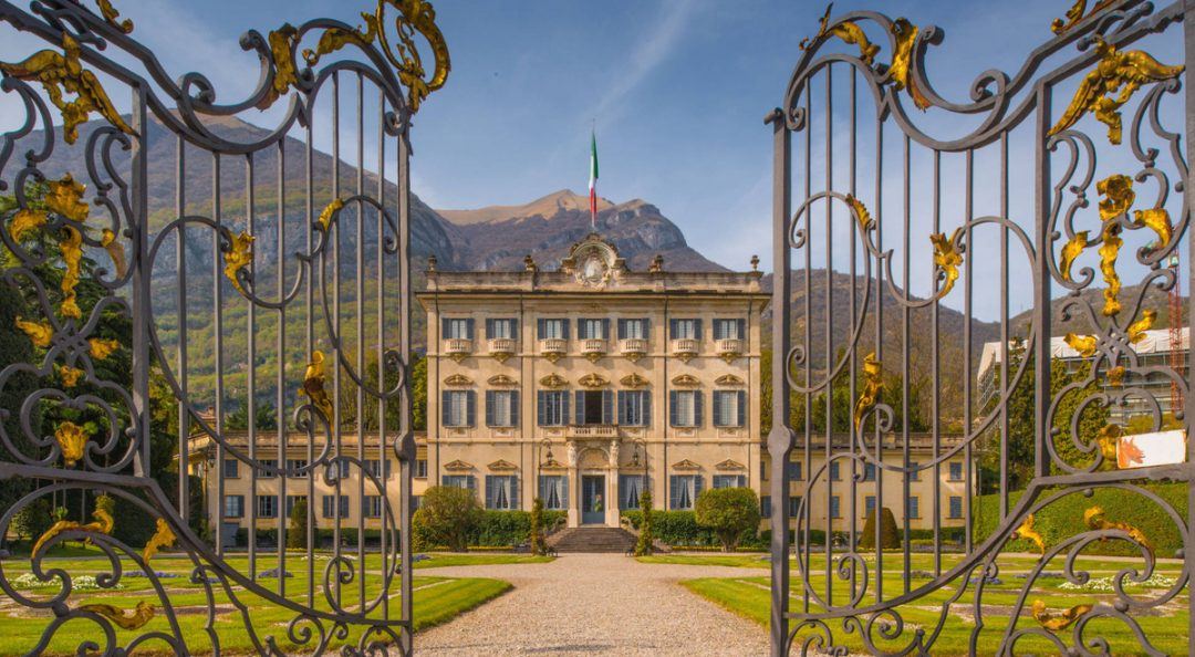 Villa Sola Cabiati on Lake Como