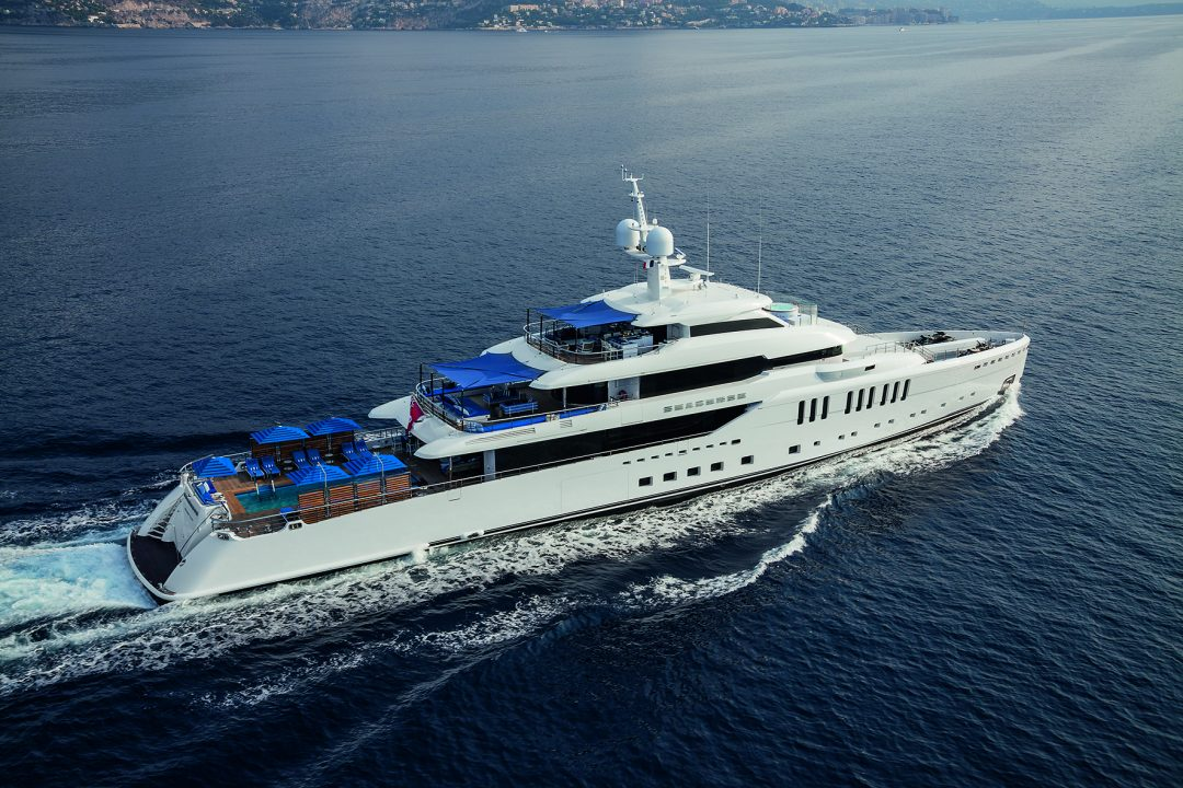 Benetti's M/Y Seasense set to debut at the Monaco Yacht Show