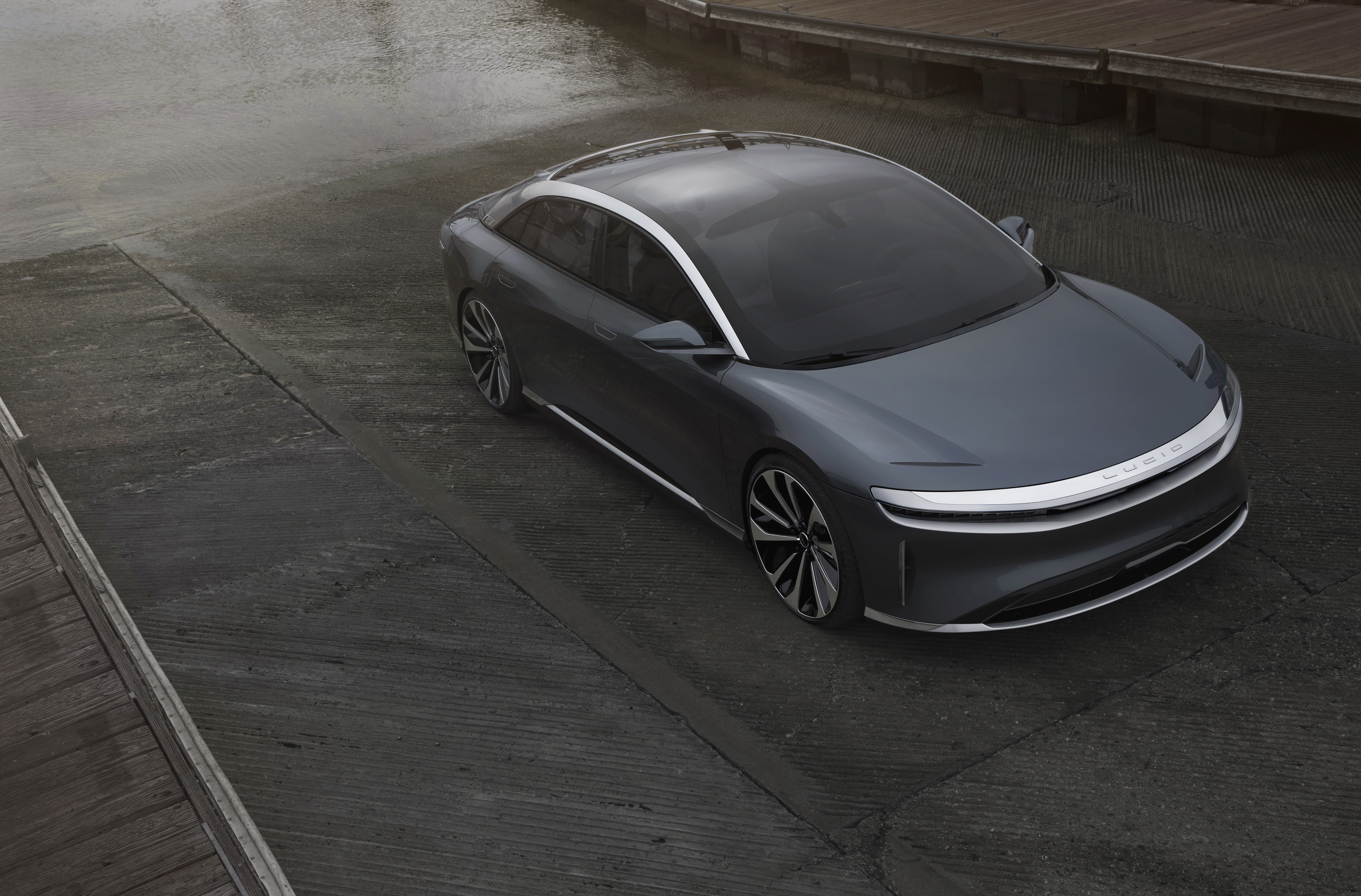 The New Lucid Air All-Electric Sedan