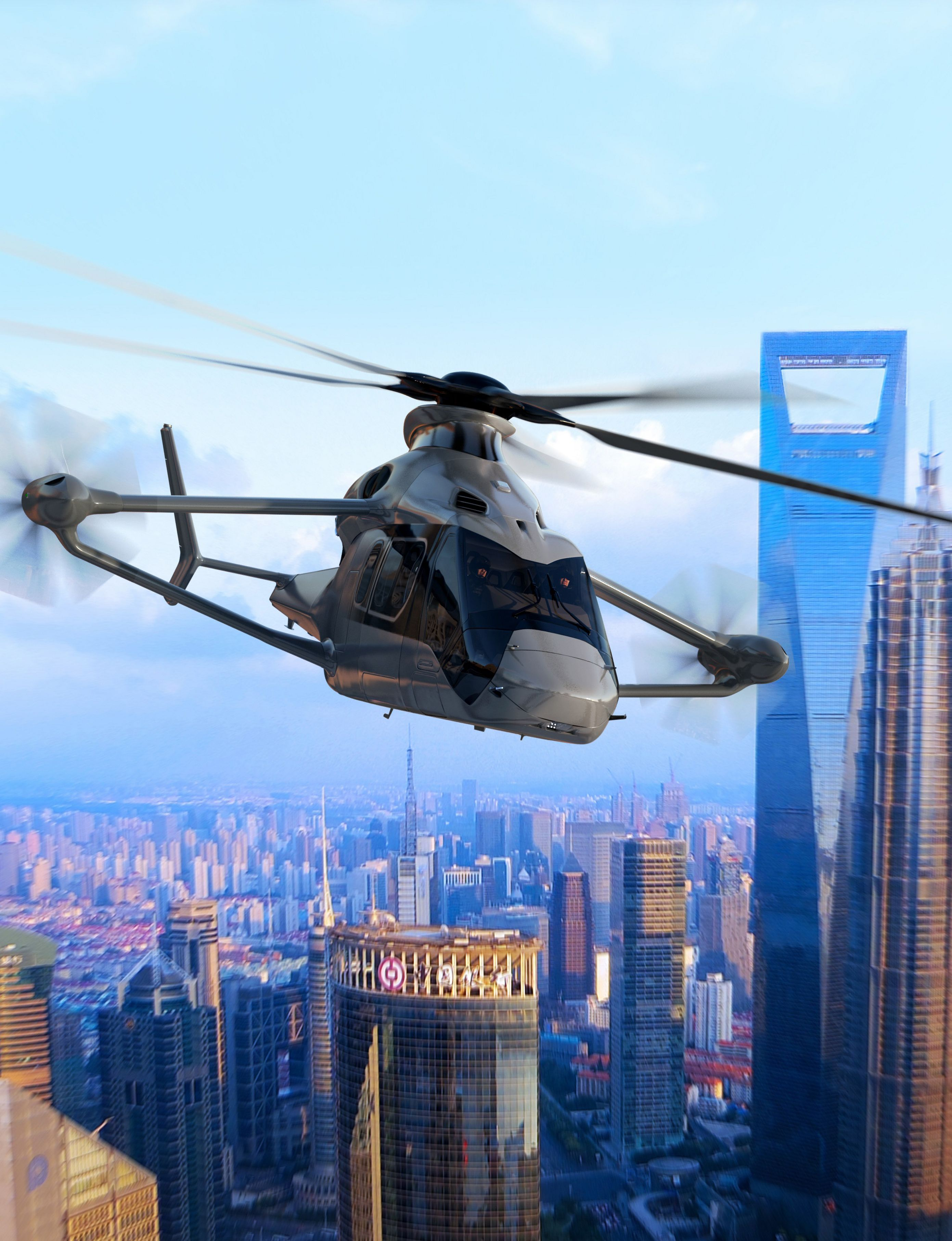 Airbus's High-Speed Helicopter Project Racer