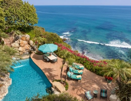 Former Malibu Estate of Johnny Carson Lists for 81.5 Million