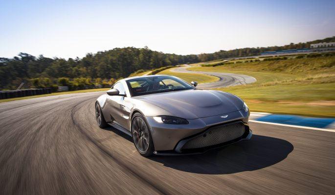 The Epitome of Speed and Elegance: 2018 Aston Martin Vantage
