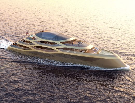 "Superyacht Concept: BENETTI and ROMERO Introduce ""SE77ANTASETTE"""