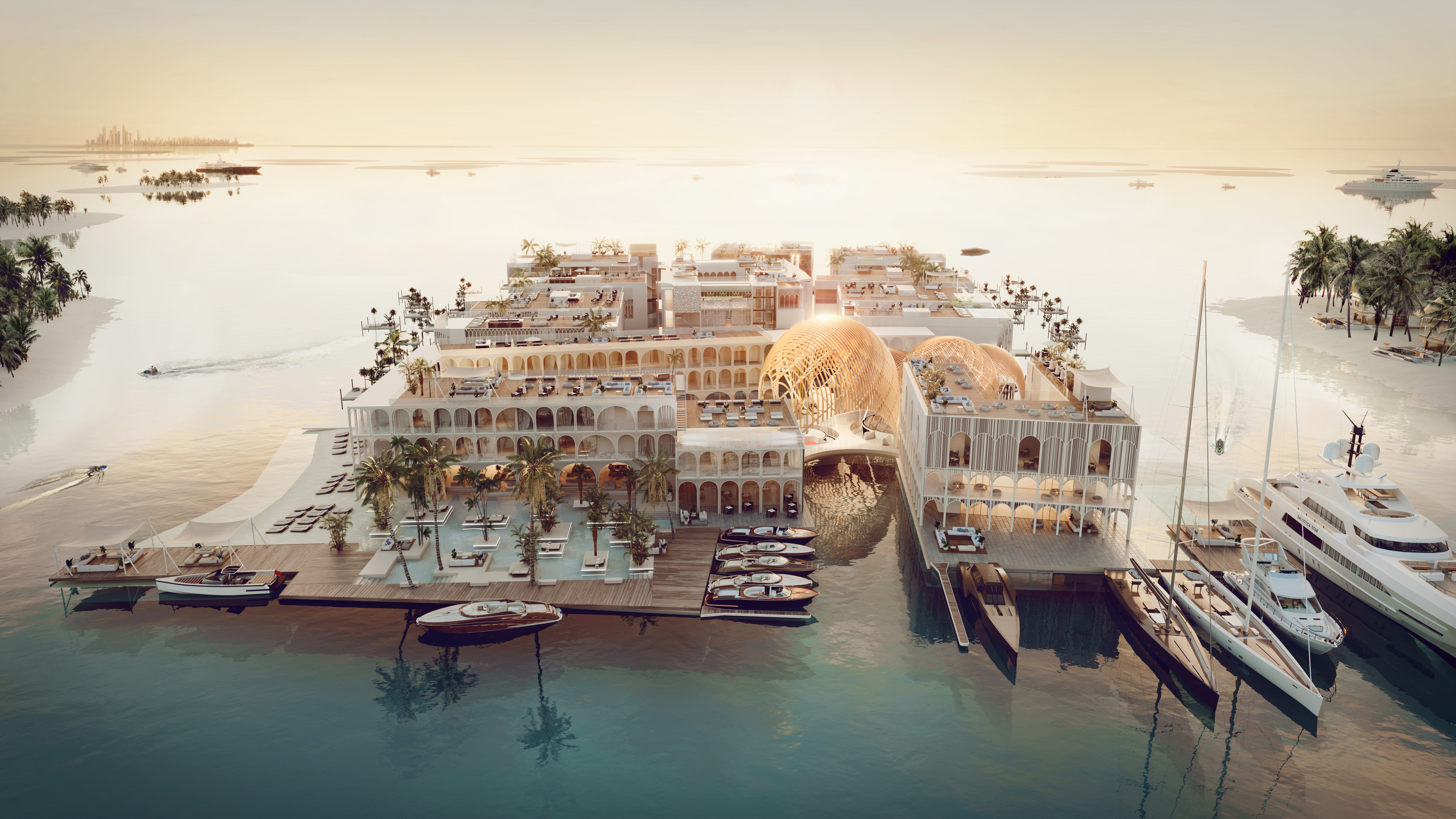 Floating Venice: an Authentic Venetian Experience Brought to the Middle East