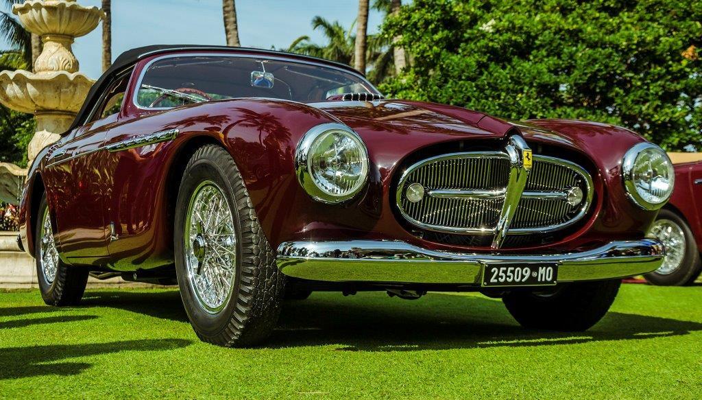 1951 Ferrari 212 Export Cabriolet by Vignale, design by Giovanni Michelotti: The Gran Turismo Ferrari Cup, Cavallino Classic