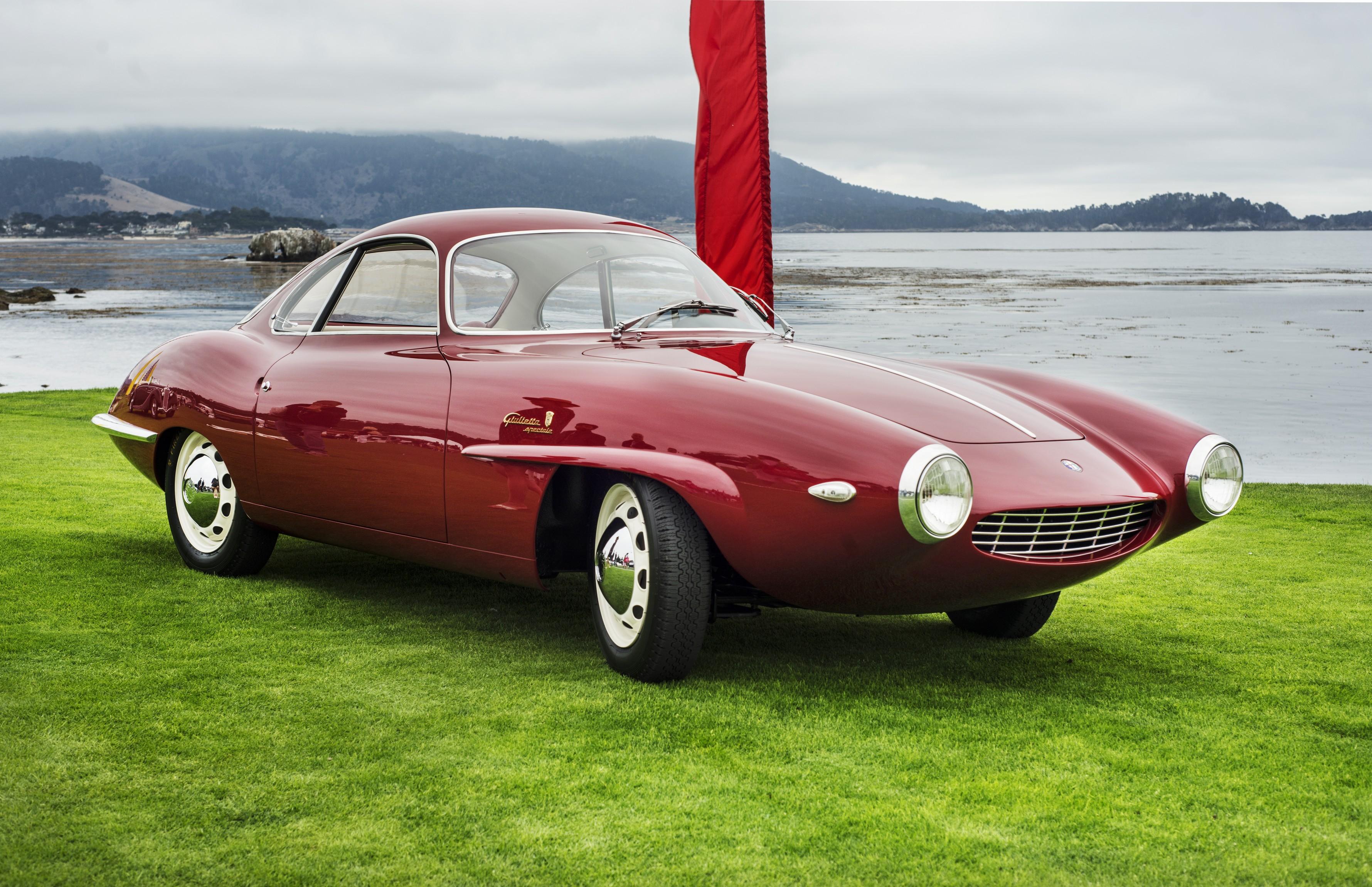 1957 Alfa Romeo Giulietta Sprint Speciale Prototipo by Bertone, design by Franco Scaglione: Concorso d'Eleganza Villa d'Este