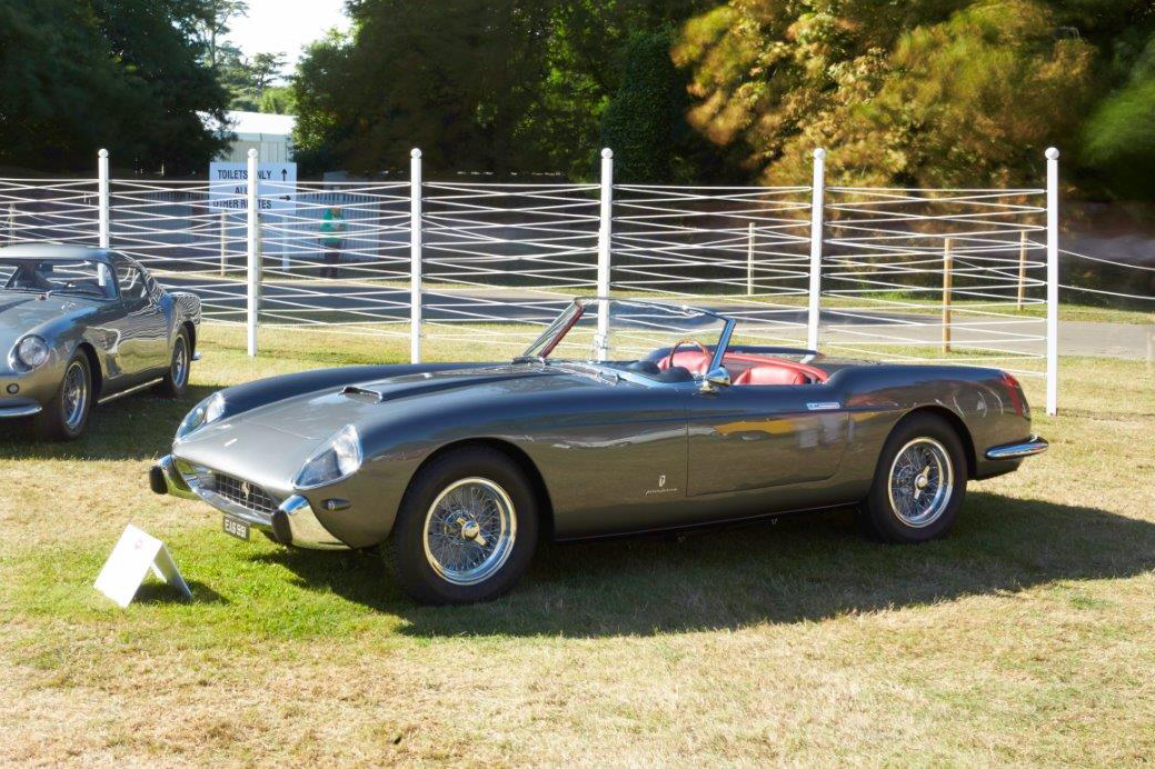 1957 Ferrari 250 GT Cabriolet by Pinin Farina: Goodwood Cartier Style et Luxe Concours d'Elegance
