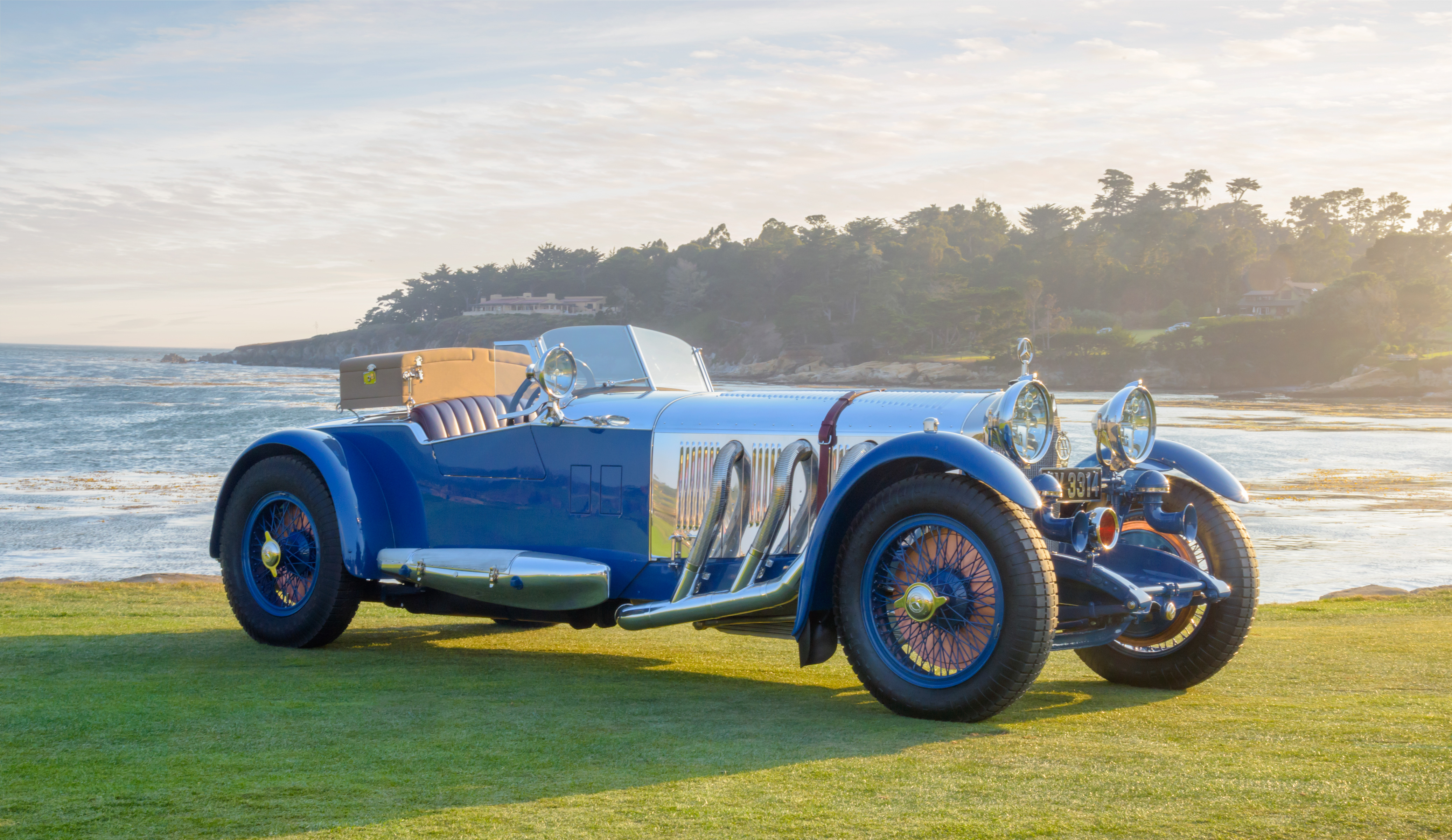 1929 Mercedes-Benz S Roadster by Barker: Pebble Beach Concours d'Elegance