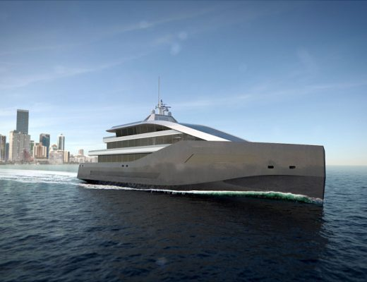 Rolls Royce Unveils Crystal Blue: a Groundbreaking Yacht Concept