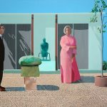 Hockney: Retrospection over a Retrospective