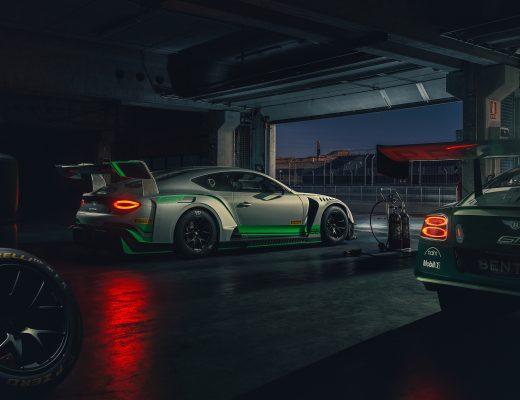 Bentley 2018 GT3 car