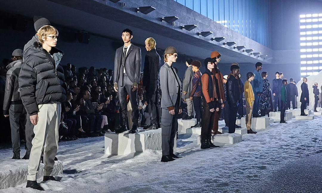 Ermenegildo Zegna's Couture Winter Menswear 2018 Collection