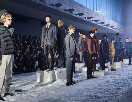 Ermenegildo Zegna's Couture Winter Menswear 2018 Collection