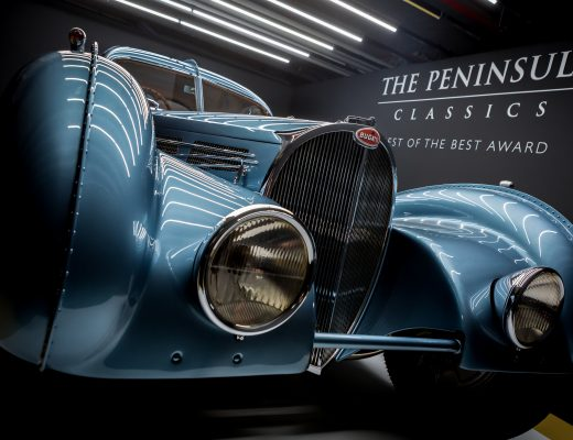 Bugatti Type 57SC Coupé Wins The Third Annual The Peninsula Classics Best of The Best Award in Paris