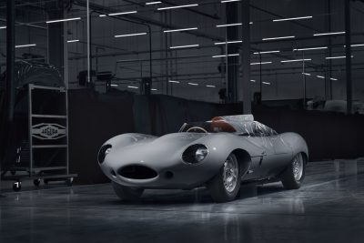 Jaguar Classic Relaunches the Iconic D-type Race Car