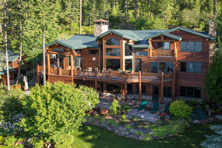 A Luxurious Montana Lake Home Lists for $6.2 Million