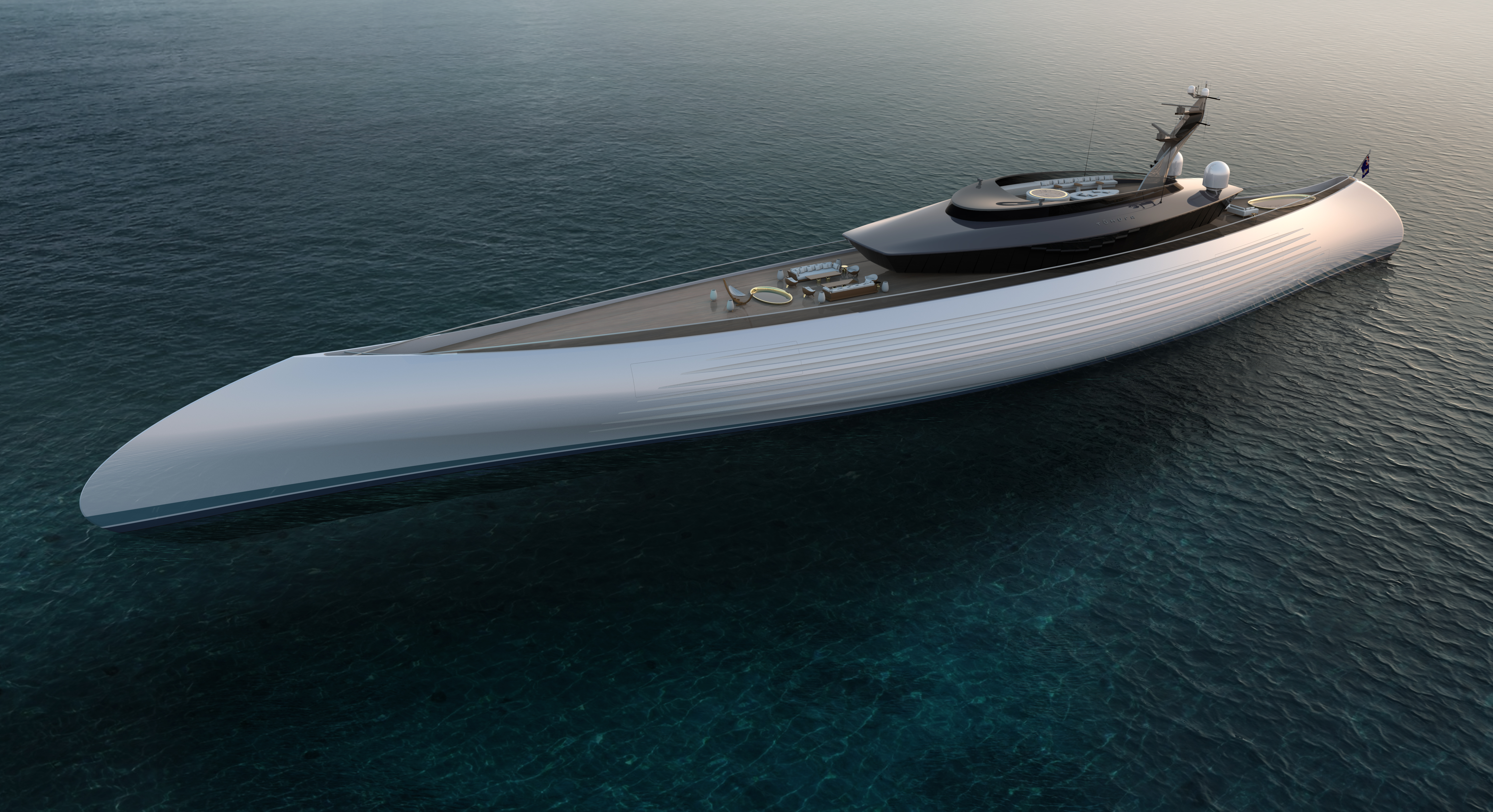 Oceanco Unveils Their New and Innovative 115-Metre Tuhura
