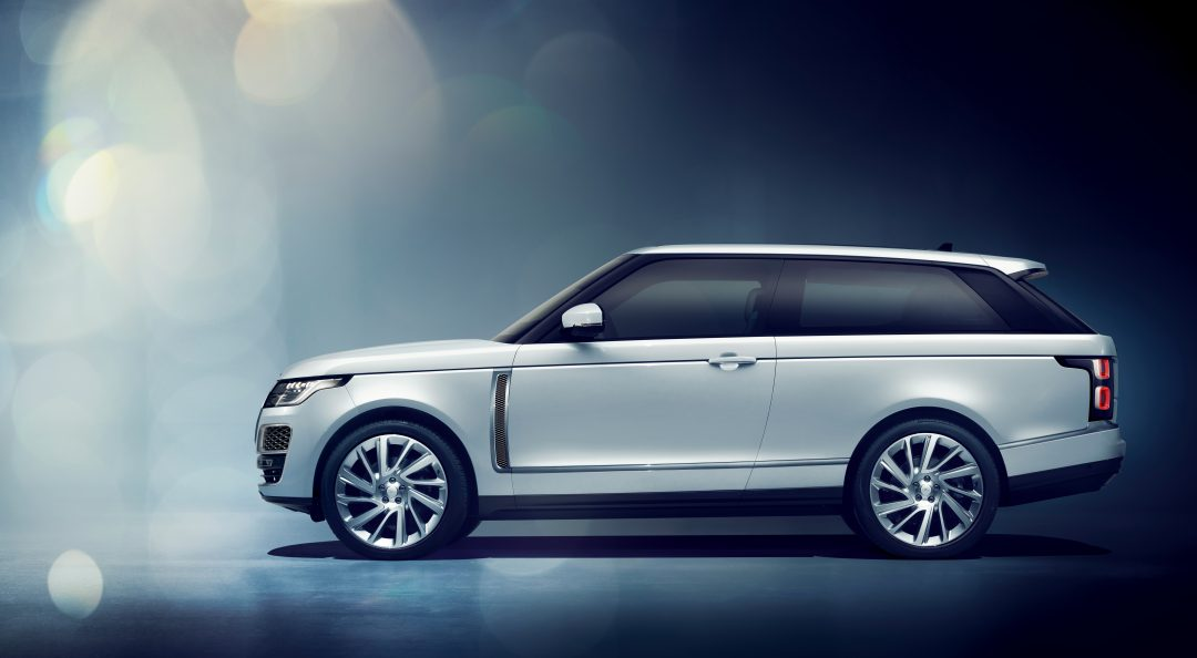 Range Rover SV Coupe Makes its Debut at The Geneva Motor Show
