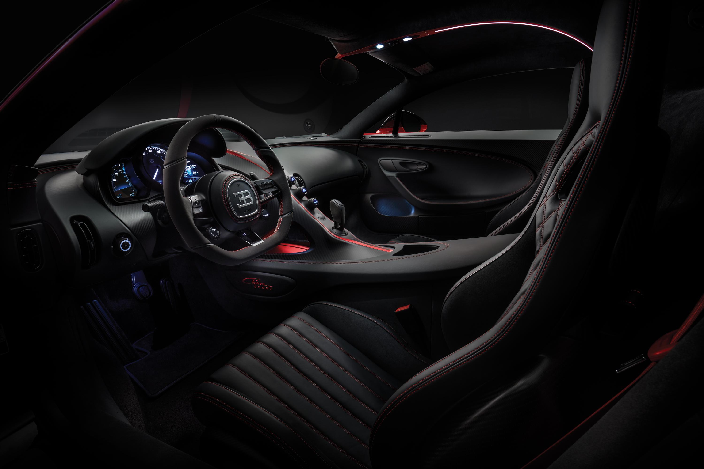 North American Premiere of the all-new Bugatti Chiron Sport