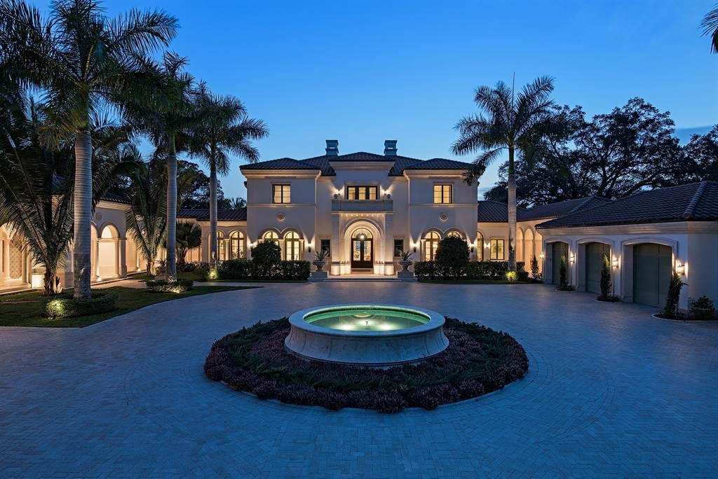 Your Palladian Inspired Waterfront Estate In Fort Myers