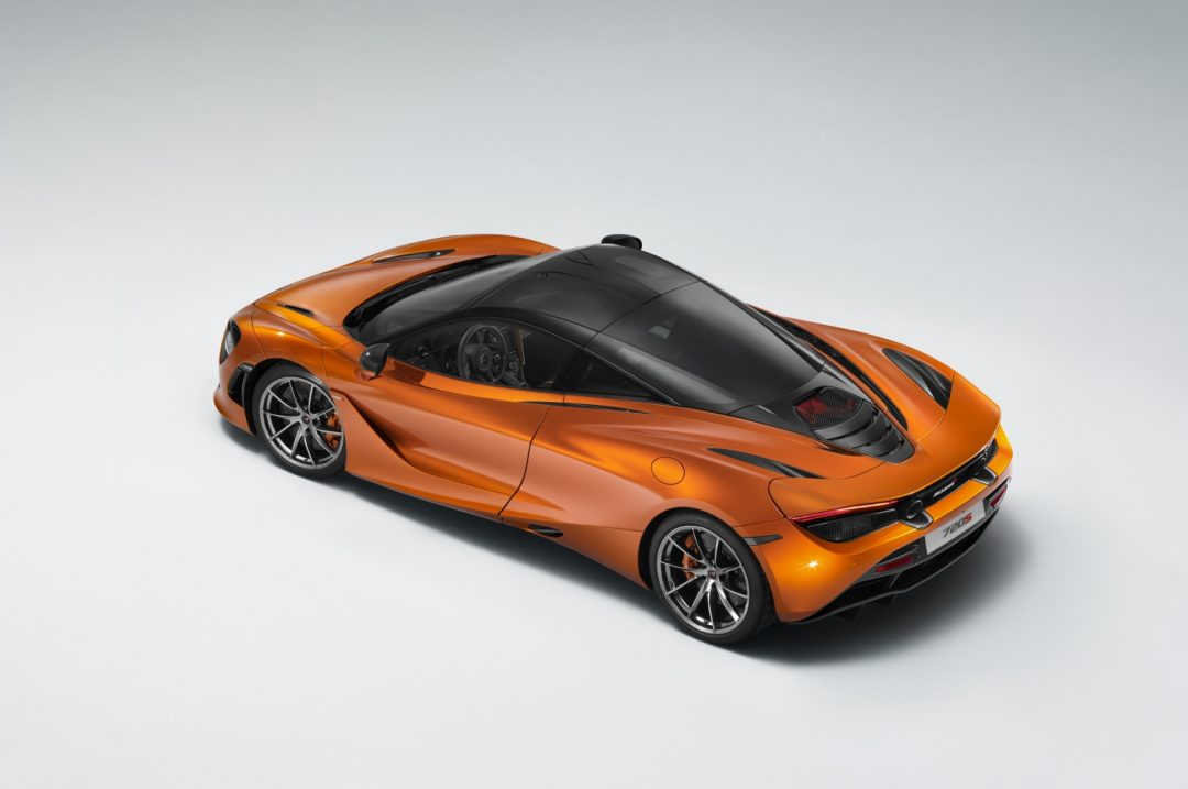 mclaren 720s dubbed most beautiful supercar of the year 2017 | the